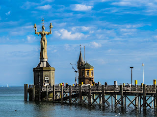 The statue named Imperia at Konstanz is said to have been  inspired by Balzac's fictional portrayal of a courtesan