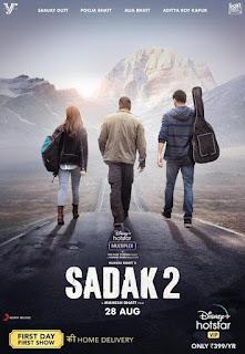 Sadak 2 First Look Poster 2
