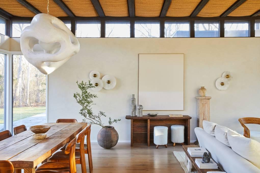 Decor | Athena Calderone's Beach House, Amagansett, New York