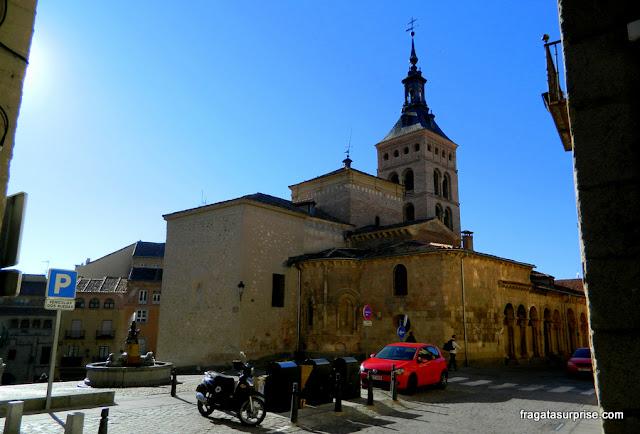 Igreja de San Martín, em Segóvia