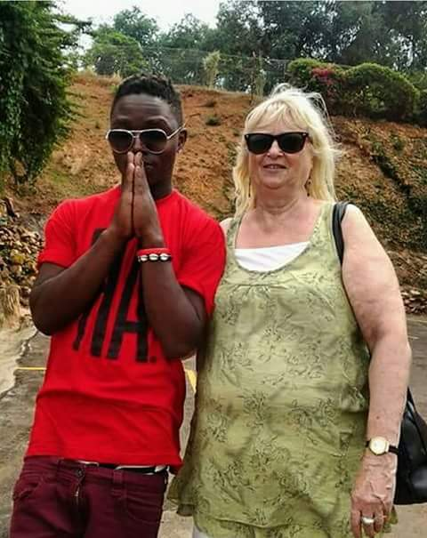 70-year-old ex-wife of Ugandan singer Guvnor Ace dumps her 19-year-old lover, claims he planned to kill her