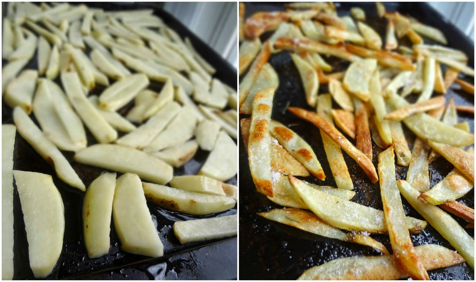Baked French Fries with Rosemary