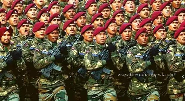 Indian Para SF Marching