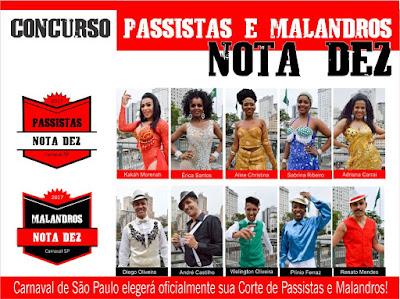 Malandros Nota Dez - Passistas Nota Dez