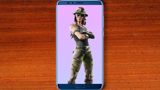 Fortnite Battle Royale - Swamp Stalker - FHD pour Mobile