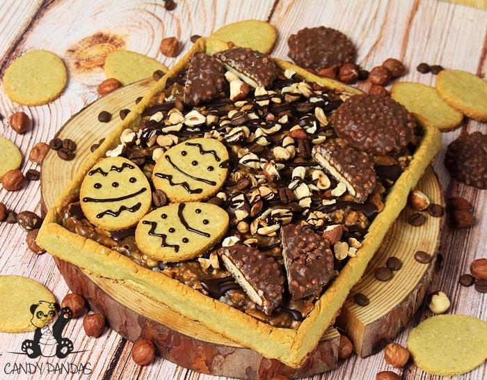 Mazurek a'la jeżyki (bez glutenu, laktozy, wegańskie)