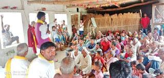 FB_IMG_1568717344108 आज ग्रामसभा खरुआव और हिताकपूरा पोखरा विधानसभा रसड़ा जनपद बलिया  में जन चौपाल कार्यक्रम