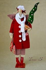 40 Enfeites de Natal Tildas