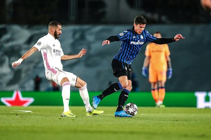 Champions: l'Atalanta cade sotto i colpi del Real Madrid