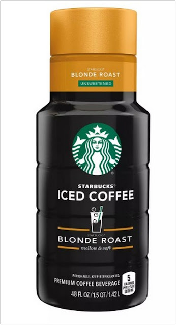 Starbucks Unsweetened Blonde Roast Iced Coffee;Starbucks Unsweetened Iced Coffee