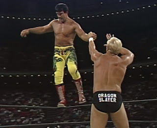 WCW Bash at the Beach 1994 - Ricky Steamboat challenged Stunning Steve Austin for the US title