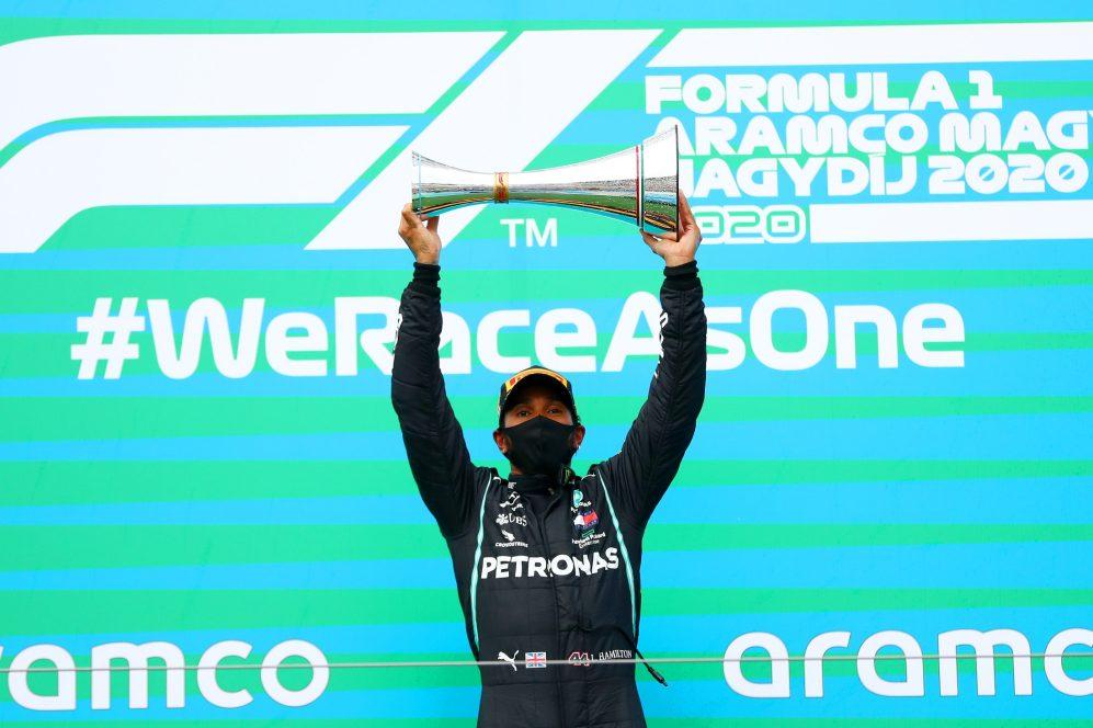 Hamilton conquistou oito vitórias em Hungaroring
