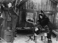 """Чарли Чаплин, Мак Суэйн и Том Мюррей в фильме """"Золотая лихорадка"""" (1925) - 4"""