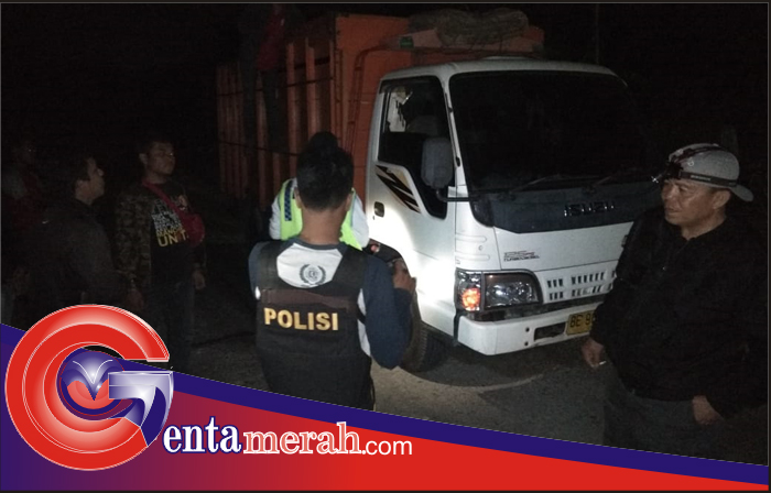 Cegah Aksi Kejahatan, Polsek Simpang Pematang Lakukan Operasi Cipkon Malam Hari