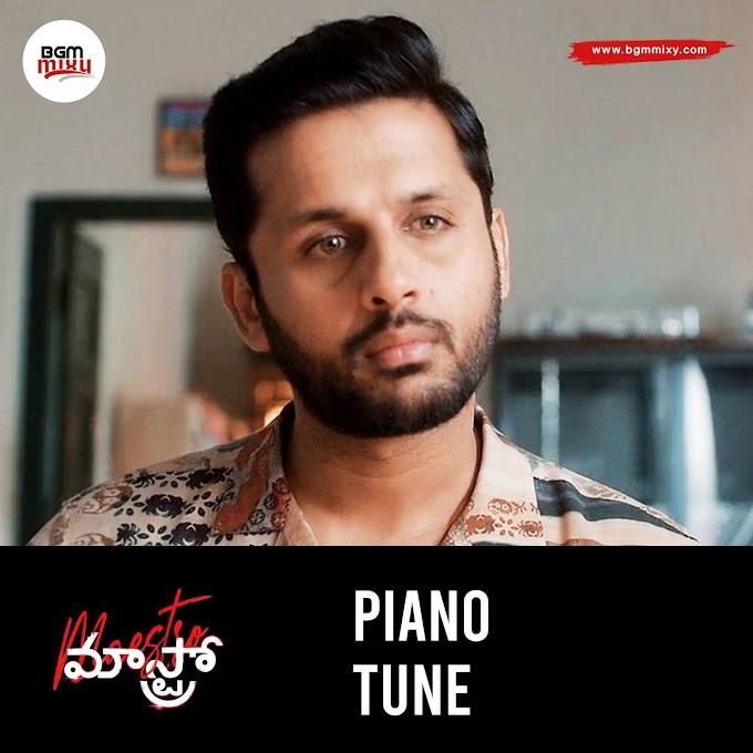 Maestro Nithiin Piano Tune Download - Maestro BGMs Download