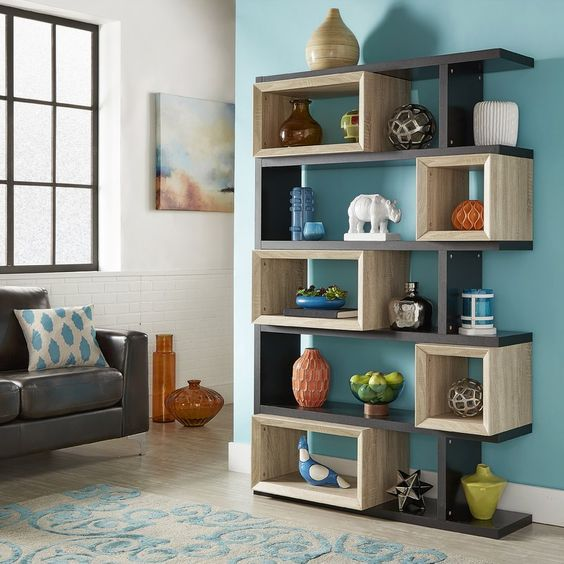 Modern Corner Wall Shelves Design Home Interior Decoration Ideas