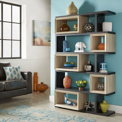 modern corner wall shelves design home interior wall decoration ideas
