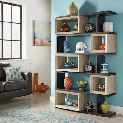 modern corner wall shelves design home interior wall decoration ideas