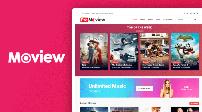 Moview Premium Blogger Template Free Download, Moview Blogger Template, Blogger Template, Premium Blogger Template