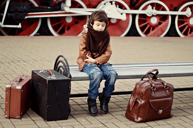 viagem criança
