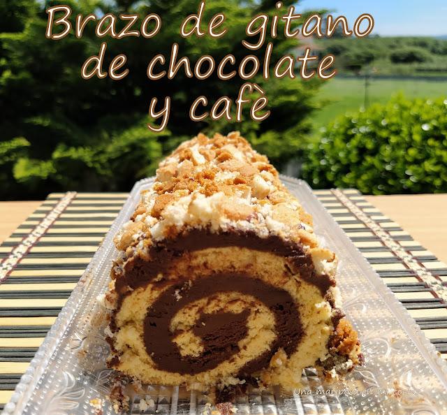 Brazo De Chocolate Y Café