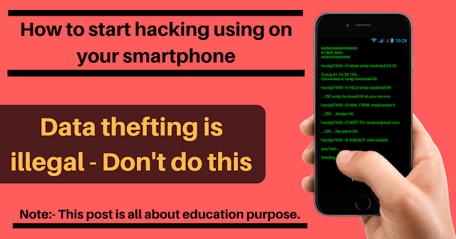 How to emulate all hacking tool on your Android smartphone