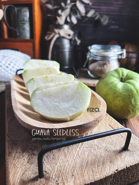 Buah Jambu Batu Tanpa Biji @Guava Seedless