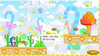 Chơi game doremon tìm bánh hấp dẫn