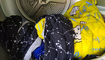 Bedding in washing machine before first use Dreamtex