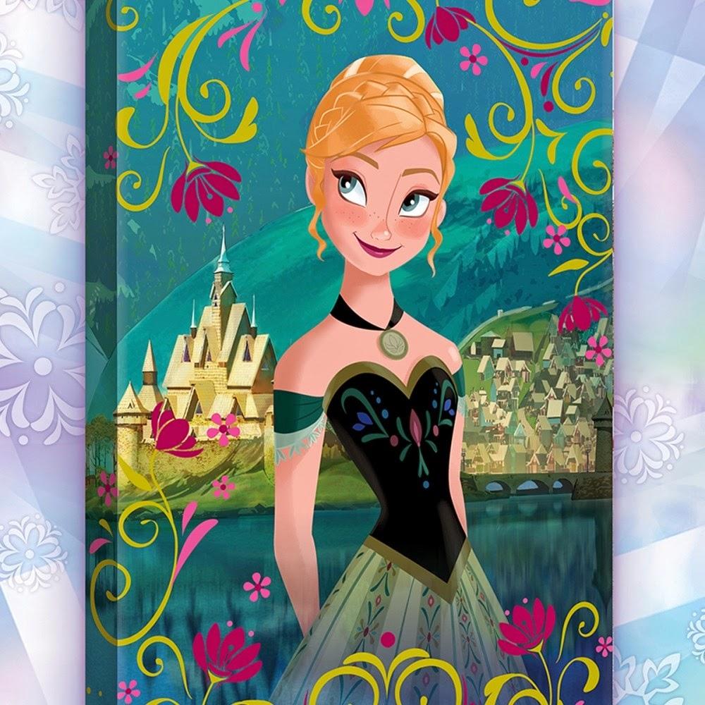 Parure de lit la reine des neiges - Anna reines des neiges ...