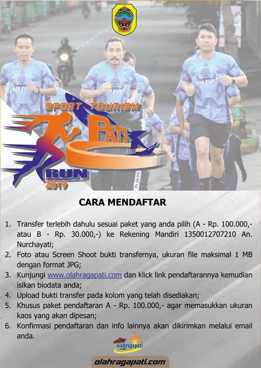 Sport Tourism Pati Run • 2019