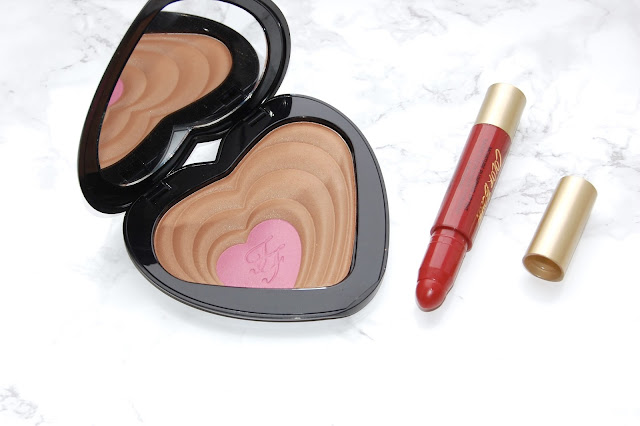 See my review of Too Faced Ross and Rachel Bronzer