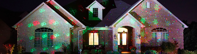 "Deck the Home ""A Christmas Story"" Laser Light Projectors"