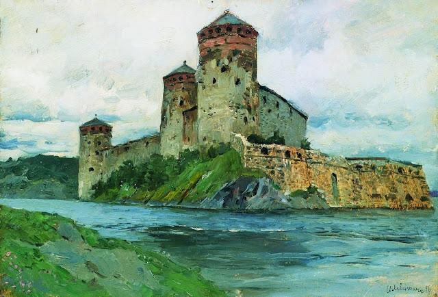 Исаак Ильич Левитан - Крепость. Финляндия. 1896