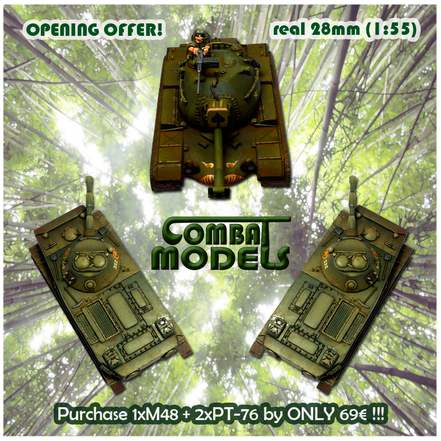 Opening Offer: M48 + 2 PT-76