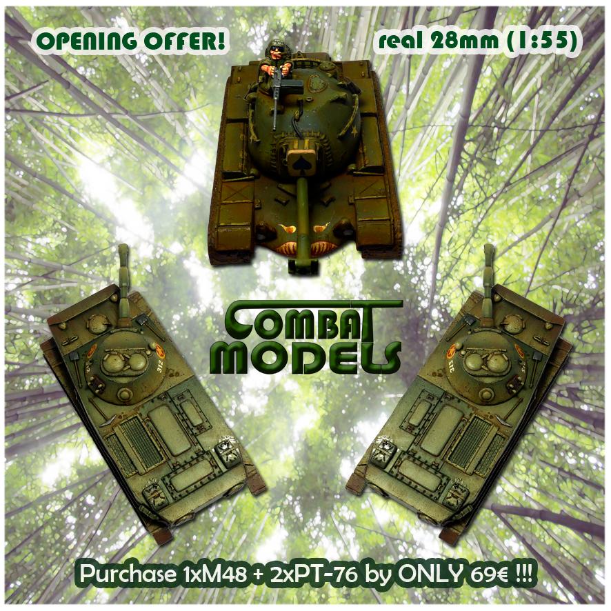 Opening Offer: M48 + 2 PT-76