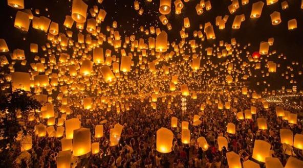 FESTIVAL YEE PENG chiangmai