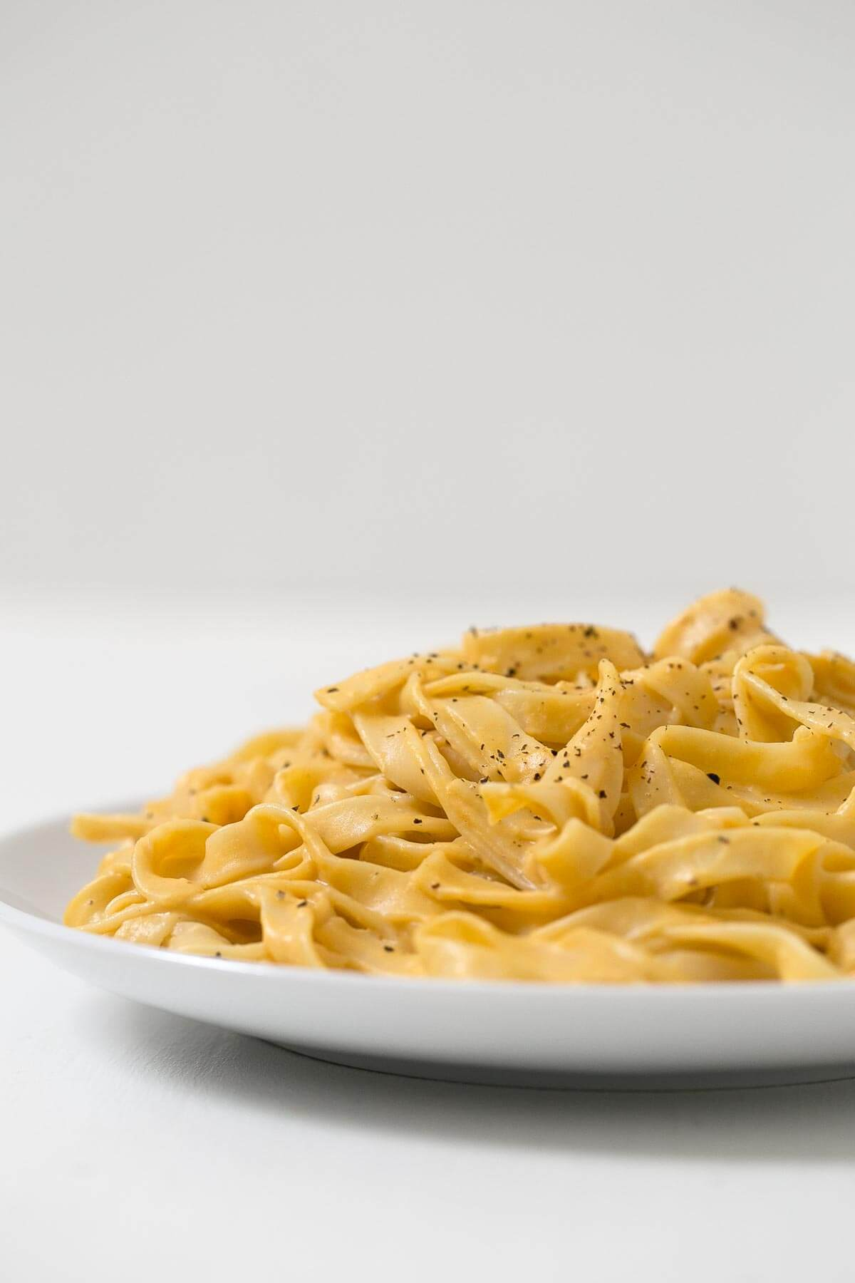 Pumpkin Alfredo Pasta. - This Pumpkin Alfredo Pasta Recipe is very creamy, light, quick, and easy to make. It is also perfect for the day today.