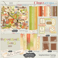September Song Collection by Seatrout Scraps and LouCee Creations