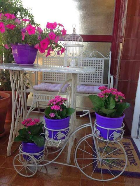 Espacio al aire libre for Decoracion de patios con macetas