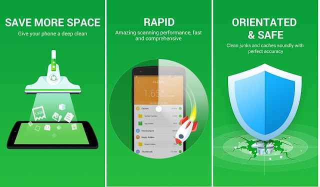 CLEAN it, Safe Boost Battery Apk Screenshot