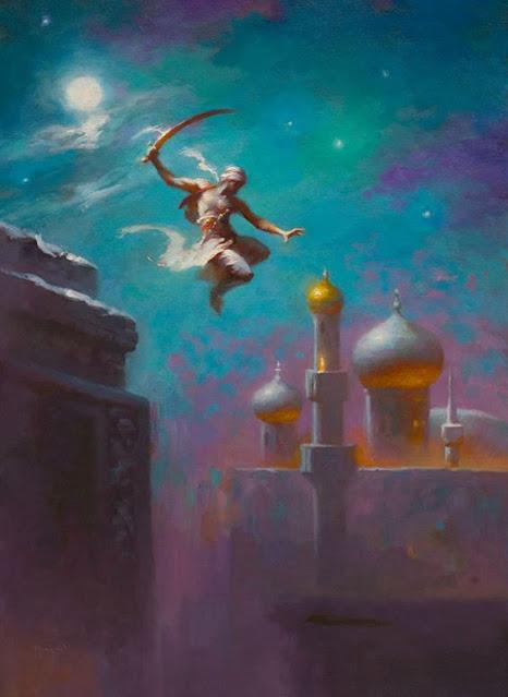 Lecturas de Fantasía - La Rosa del Profeta - Noche en el desierto