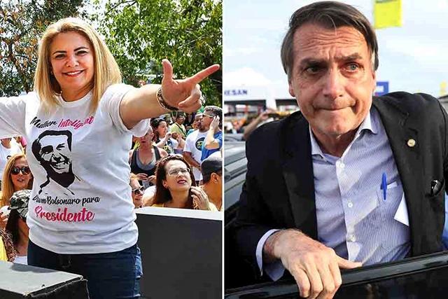 Ex-mulher de Bolsonaro comprou 14 apartamentos