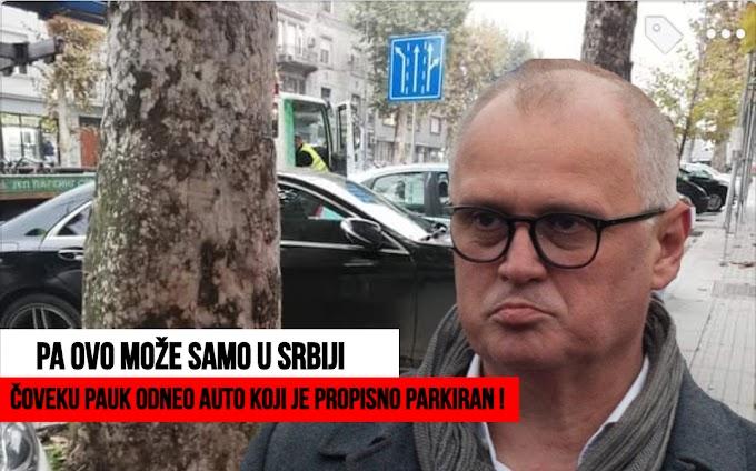 Gorane Vesiću zašto pauci nose propisno parkirane automobile, koji su uredno platili parking i zašto su parking mesta kratka ?!