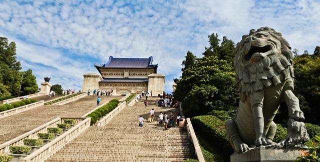 สุสานดร.ซุนยัตเซ็น (Mausoleum of Sun Yatsen: จงซานหลิง: 中山陵)