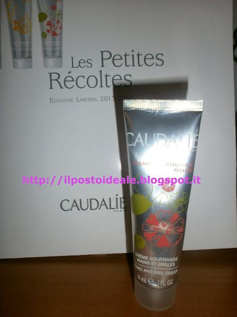 Caudalie Crèmes Gourmandes Mains et Ongles Pamplemousse Rose