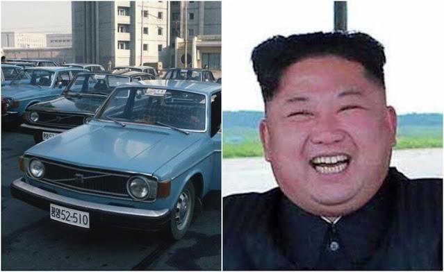 Corea del Norte encargó 1.000 automóviles Volvo a Suecia