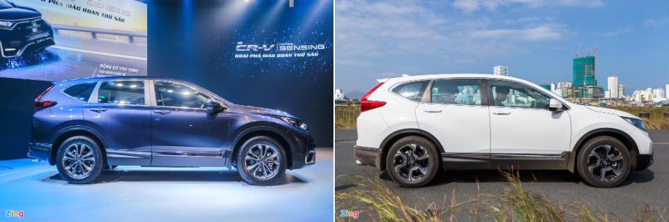 Đắt hơn 25 triệu đồng, Honda CR-V 2020 khác gì so với thế hệ trước?