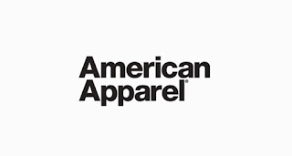 American Apparel خط لوجو