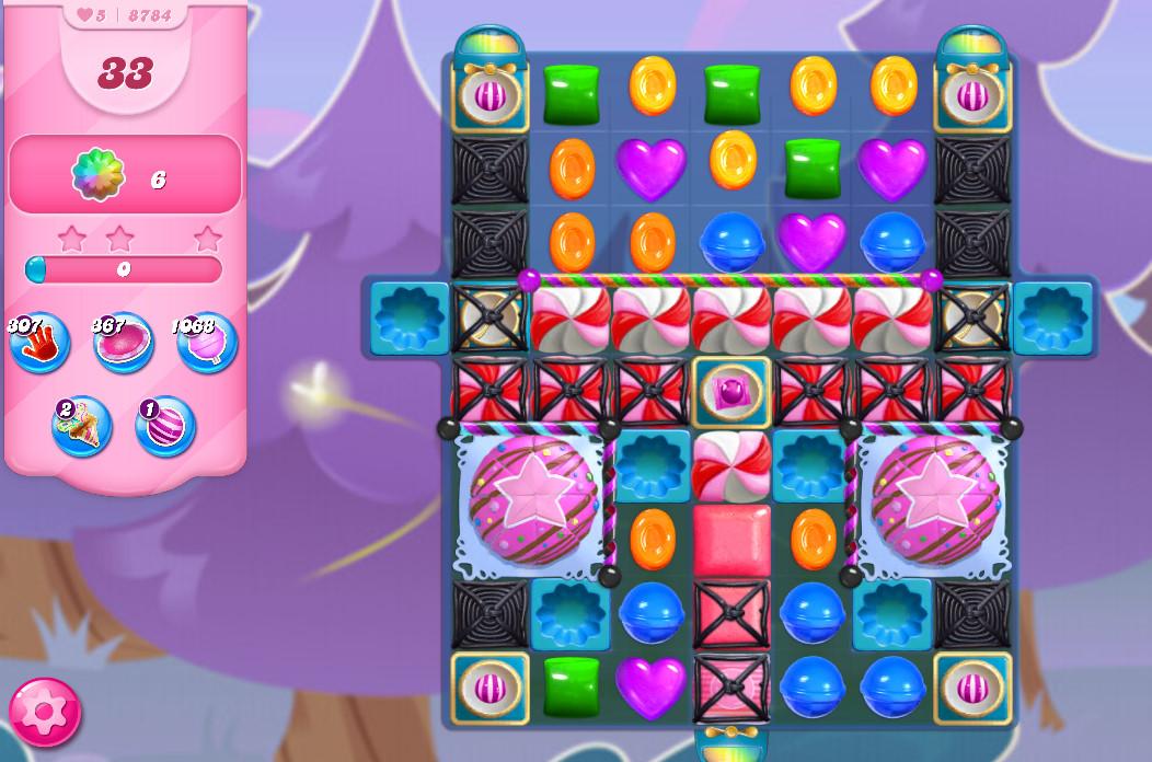 Candy Crush Saga level 8784